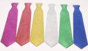 עניבות נצנצים